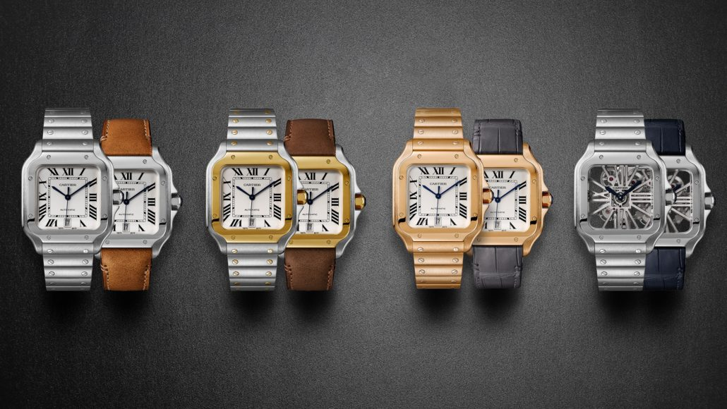 The 2018 Cartier Santos Collection